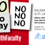 Solidarity Rally Poster
