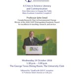 John Smol Lecture Poster